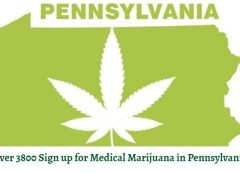 Over 3800 Sign up for Medical Marijuana in Pennsylvania